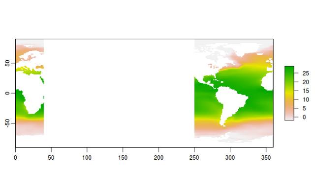 Temperatura Superfial del Atlántico